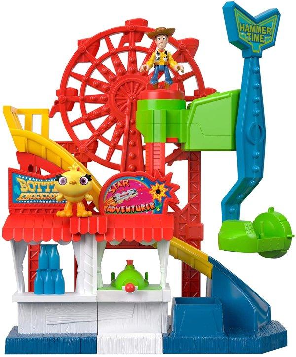 玩具总动员4嘉年华玩具 跟着一起嗨起来