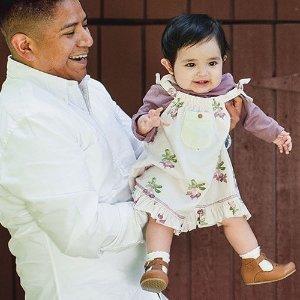 全场7折 宽松版睡衣大量上新Burt's Bees Baby 婴童有机棉产品劳工节大促
