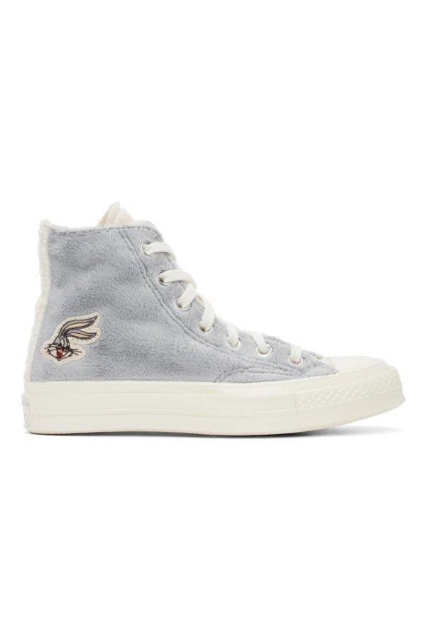 Grey & Off-White 高帮鞋
