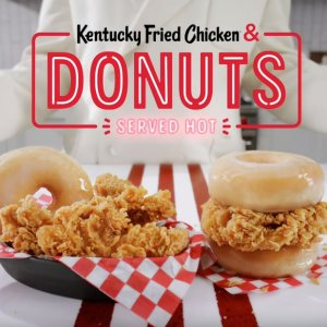 Starting at $5.49KFC Fried Chicken & Donuts Nationwide for Limited Time