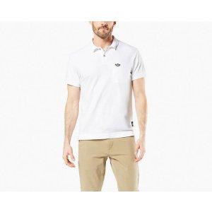DockersMen's Pique Polo Shirt