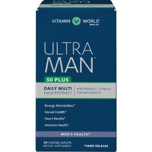 Ultra Man™ 50 Plus at Vitamin World