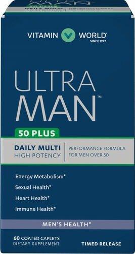 Ultra 50岁 男性综合维生素