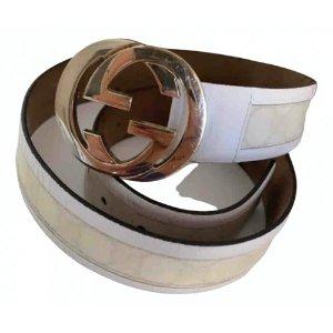 GucciInterlocking Buckle cloth belt 1 Gucci