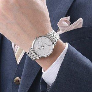 $1249LONGINES Elegant Collection Watch Automatic Men's Watch L48104126  No. L4.810.4.12.6