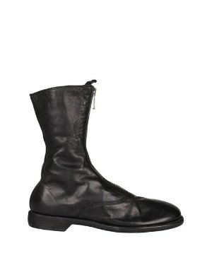 Lyst - Guidi 310 Front Zip Leather Boots in Black