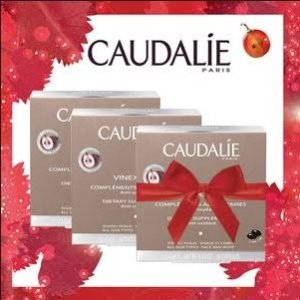 Dealmoon Exclusive! 19% off Supplements + Receive 2 FREE Travel Size Grape Waterswith any order over $50+ @ Caudalie