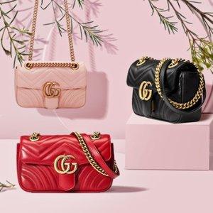 3cm腰带美国定价7.4折+全球免邮Gucci 经典美包、黑色腰带热卖 收明星同款
