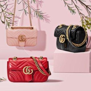 額外7.8折+全球免郵Gucci 經典美包、雙G皮帶、圍巾等熱賣 收明星同款