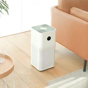 $235+免邮小米 空气净化器3 高效除尘 除病毒 除甲醛 小巧不占地