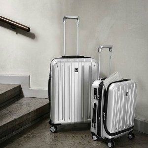 DelseyTITANIUM CARRY-ON EXPANDABLE SPINNER LUGGAGE