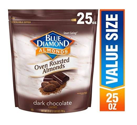 黑巧克力口味杏仁 1磅装