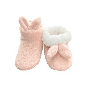 72253c24871d Secret Treasures Women s Critter Ballet Slipper · Angelina Sherpa-Lined  Rabbit Indoor Boots with Non-Slip Bottom (1-6