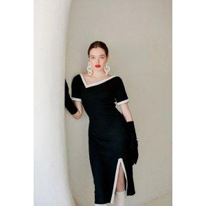 Petite StudioHepburn Dress - Black