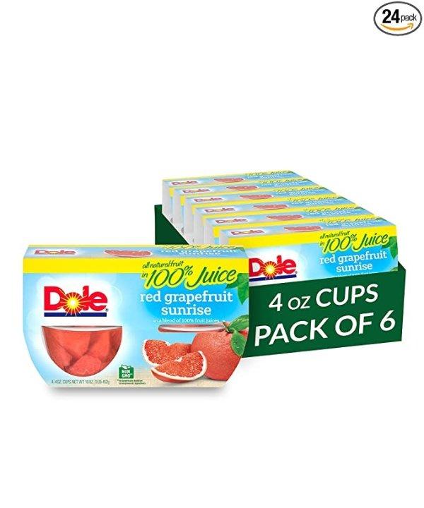 红西柚水果杯 24杯