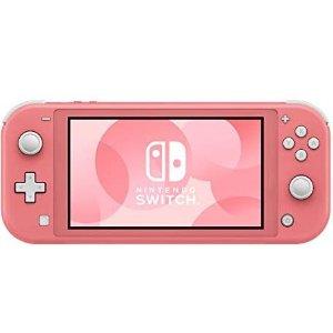 $259.99+包邮补货:Nintendo Switch Lite游戏机 珊瑚粉补货