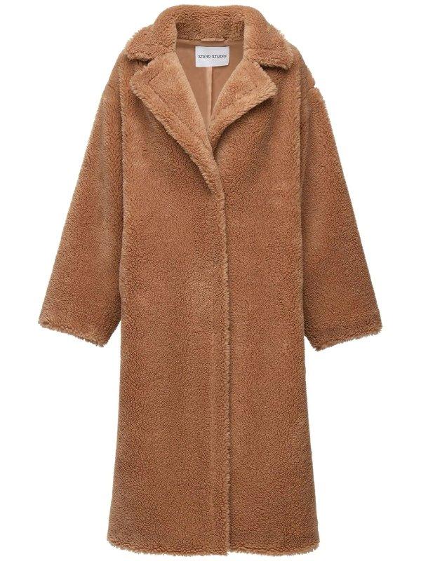 泰迪熊长款外套