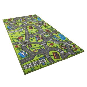 $20.75 美亚销售第一儿童大号汽车轨道游戏毯 60英寸x32英寸