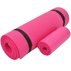 Everyday Essentials 家用健身瑜伽垫 1/2寸厚度