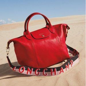 低至6.7折+最高送$100礼卡+额外$10礼卡Longchamp 时尚包包热卖,出行必备超实用