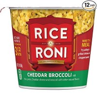 QUAKER Rice a Roni 即食米饭 西兰花口味 1.97oz 12杯