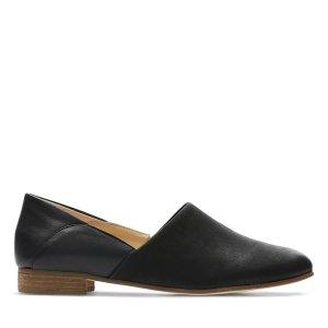 ClarksPure Tone黑色单鞋