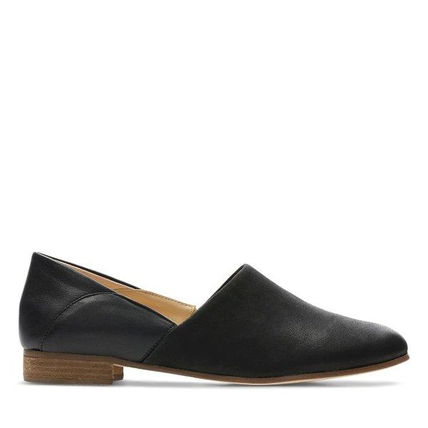 Pure Tone黑色单鞋