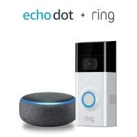 Amazon Ring Video Doorbell 2 智能门铃 + Echo Dot 3代 套装