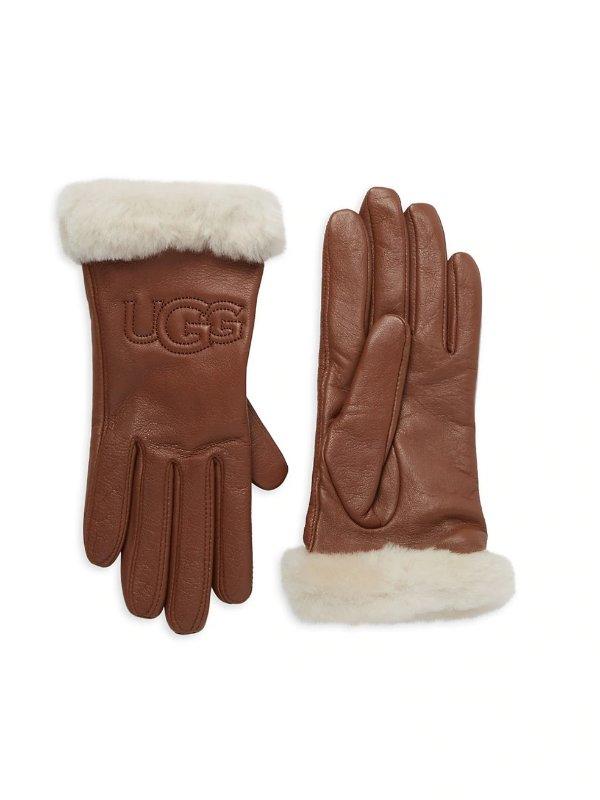小羊皮手套