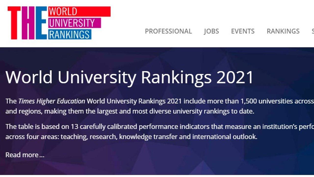 2021泰晤士世界大学排名新鲜出炉!6所澳洲名校入选世界前百,快来看看你的母校榜上有名不?