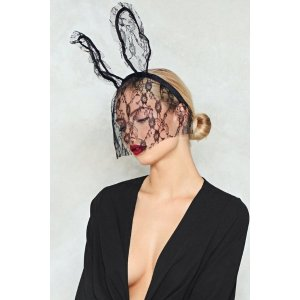 Nasty GalWe Don't Find It Bunny Veil Ears | Shop Clothes at Nasty Gal!
