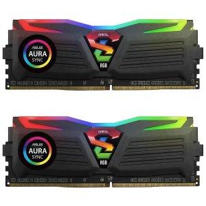 $129.99GeIL SUPER LUCE RGB 16GB (2x8GB) DDR4 3000 Kit