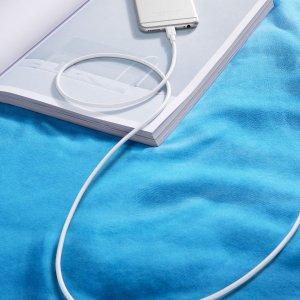 $15.99(原价$19.99)Anker 1.8米长苹果数据线  再也不用守着插座玩手机