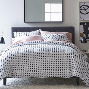 低至4折 $7.99收脏衣篮JCPenney 精选多款家居用品低价热卖 床品套装仅$39.9