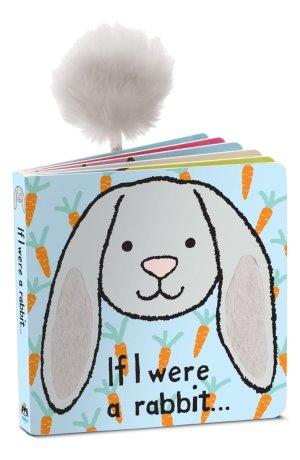 Jellycat 'If I Were a Rabbit' 纸板书绘本