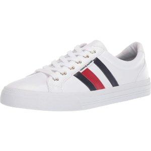 现价$30.78(原价$59)Tommy Hilfiger 女士logo舒适小白鞋