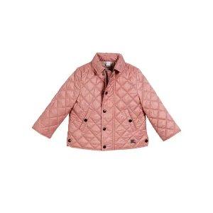 Burberry婴幼儿绗缝保暖外套