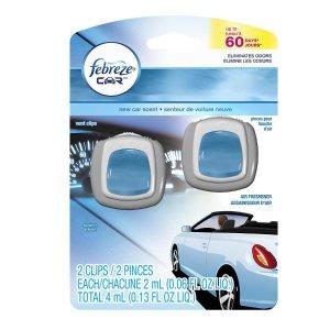 Febreze Car Vent Clips Air Freshener New Car | Walgreens