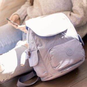 5折+免邮+送雨伞Kipling官网 经典双肩猩猩包等热卖 收可爱马卡龙色