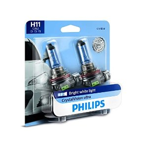 PhilipsCrystalVision Ultra H11 升级灯泡 2只装