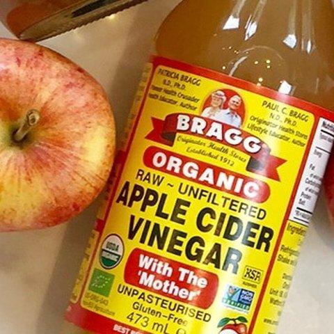 低至£5入 无门槛8.5折Bragg's 苹果醋 排毒祛痘 减肥神器 帕梅拉同款