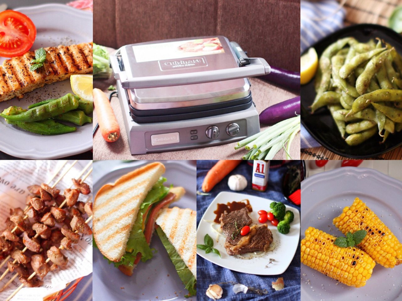 Cuisinart多功能煎烤机   一秒让你摇身变大厨