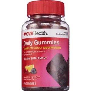 CVS成人复合维生素软糖 70粒