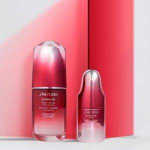 独家:Shiseido 资生堂护肤品热卖 收红腰子超值套装