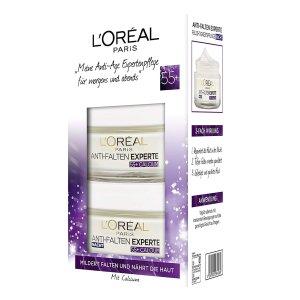 会员日秒杀¥57L'Oréal Paris 抗皱专家 日夜护理礼品套装 抗老必备