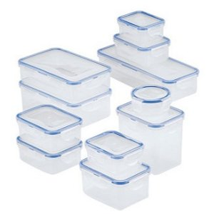Lock n Lock Easy Essentials 22-Pc. Food Storage Container Set