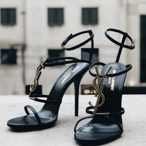 低至5折+免关税 羽毛高跟$688最后一天:Saint Laurent特卖专场 星星鞋$400+ 相机包$1000+