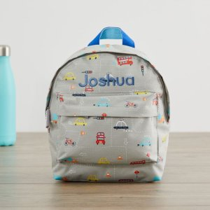My 1st YearsPersonalized Transport Print Mini Backpack Welcome %1