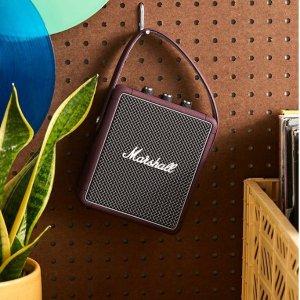 €129.99(原价€229.99)Marshall 复古可爱便携蓝牙音箱热促 实用性和收藏价值兼备