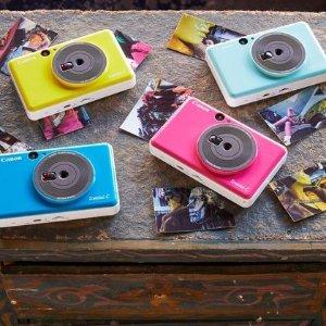 低至5折 £89收玫瑰金照片打印机Zoemini 口袋照相机、便携照片打印机 现场拍照立刻打印